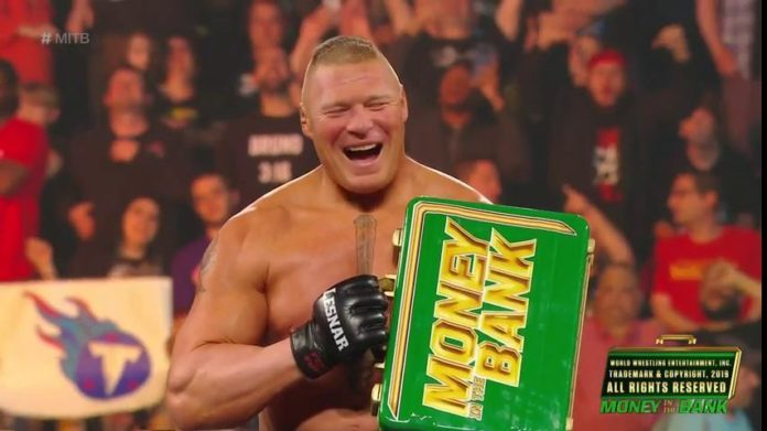 Only One Superstar Knew Brock Lesnar Would Win Money In The Bank
