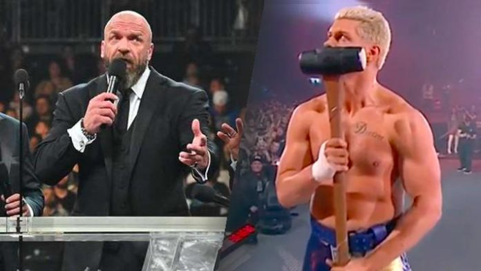 Triple H and Cody Rhodes
