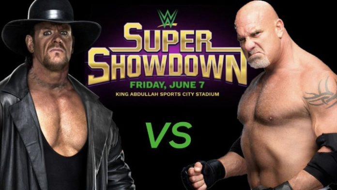 Goldberg vs. The Undertaker