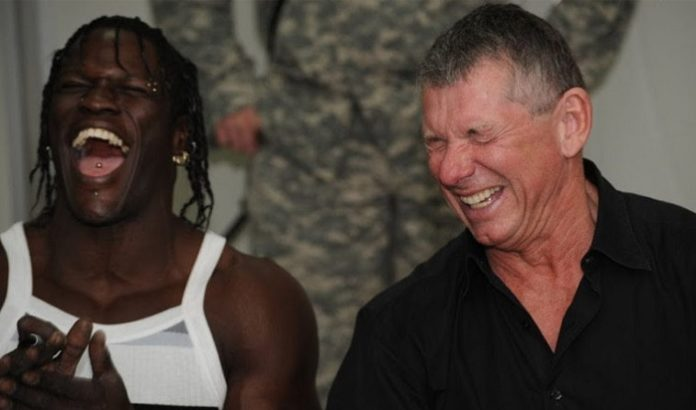 R-Truth & Vince McMahon