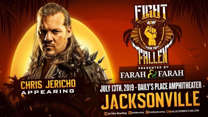 Chris Jericho announced for Fight For The Fallen