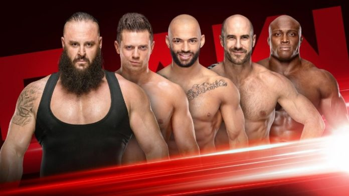 Fatal 5-way announced for RAW