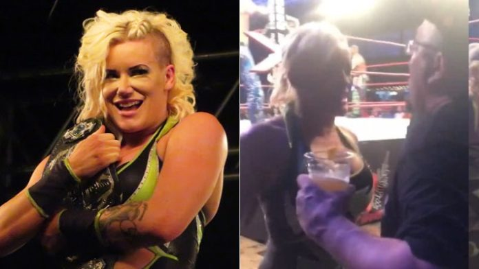 Fan Ejected For Spitting On Taya Valkyrie At Impact Event ...