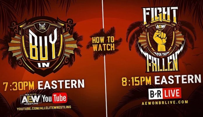 AEW Fight For The Fallen: How To Watch Tonight, Live Results At