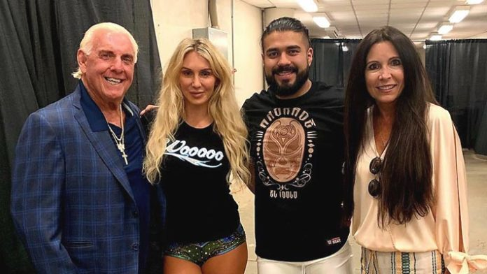 Ric Flair Talks About Charlotte Dating Andrade
