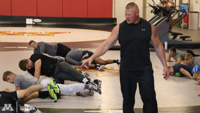 Brock Lesnar University of Minnesota