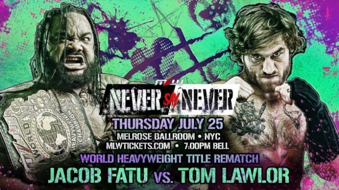 Jacob Fatu vs Tom Lawlor II