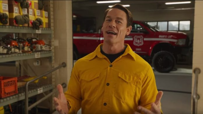Trailer For John Cena S Playing With Fire Film