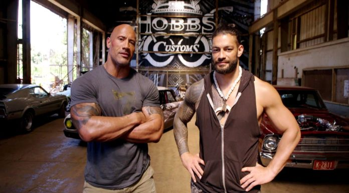 Roman Reigns with The Rock