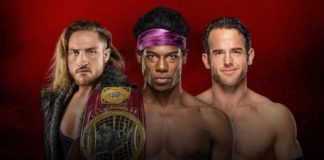 The Velveteen Dream vs. Pete Dunne vs. Roderick Strong