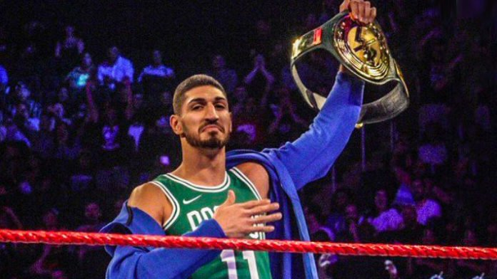 Enes Kanter WWE