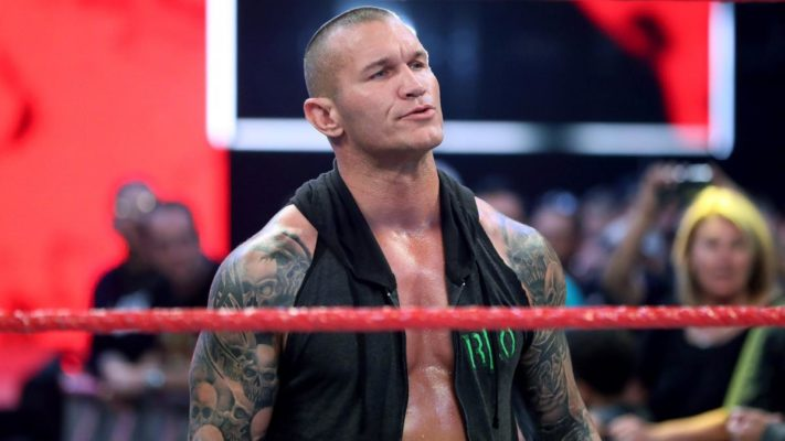 Randy Orton Not Happy Over WWE Wrestlemania 36 Poster 1