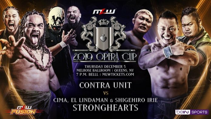 CIMA & Strong Hearts in MLW