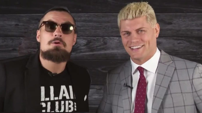 Cody Rhodes Marty Scurll