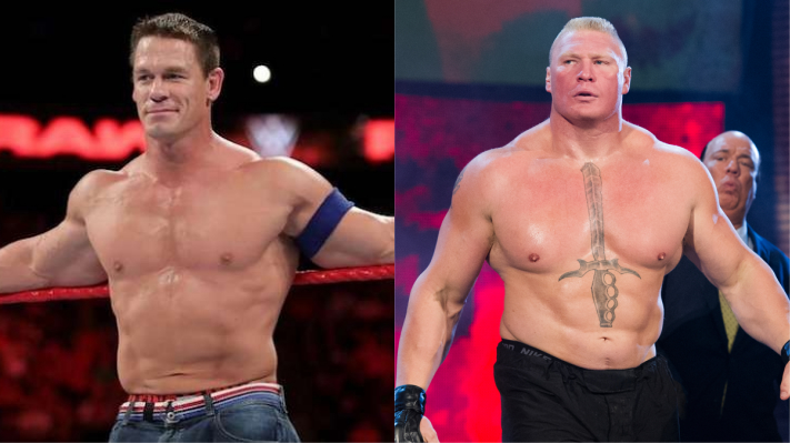 John Cena Says Brock Lesnar Is The Greatest In Ring Performer Ever
