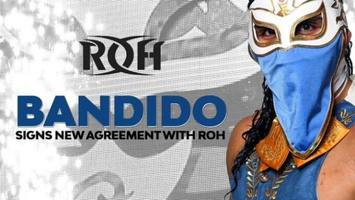 ROH re-signs Bandido