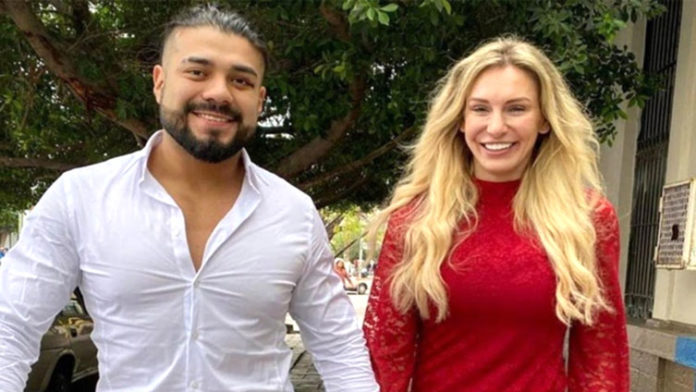 Andrade & Charlotte Flair