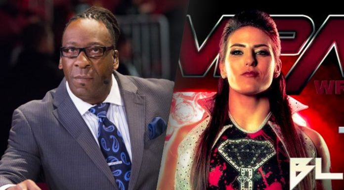 Booker T and Tessa Blanchard