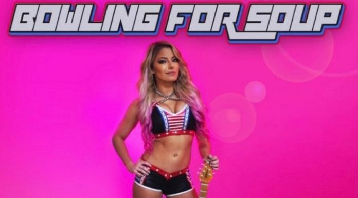 Bowling for Soup and Alexa Bliss