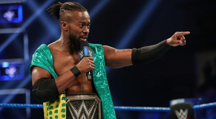 Kofi Kingston as WWE Champion