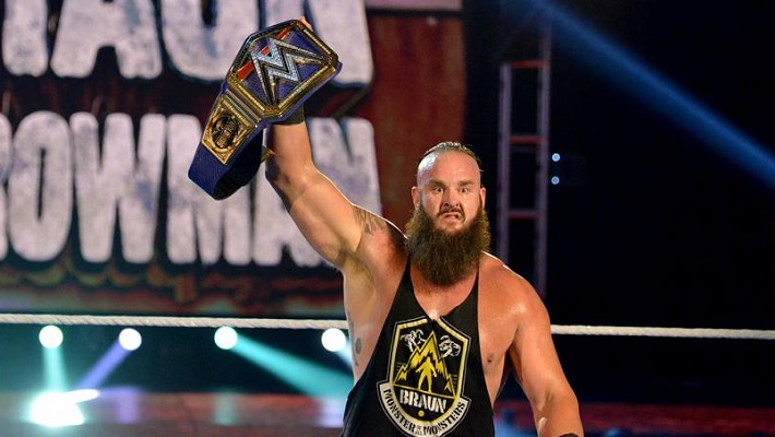 Braun Strowman Reacts To Universal Title Win At WrestleMania 36