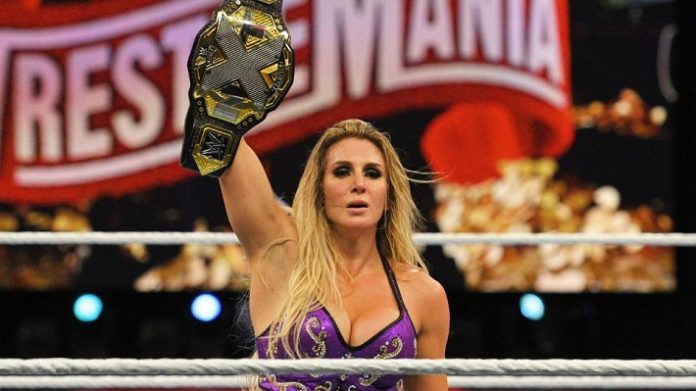 The New NXT Women's Champion Charlotte Flair. Image Credit: WWE.com
