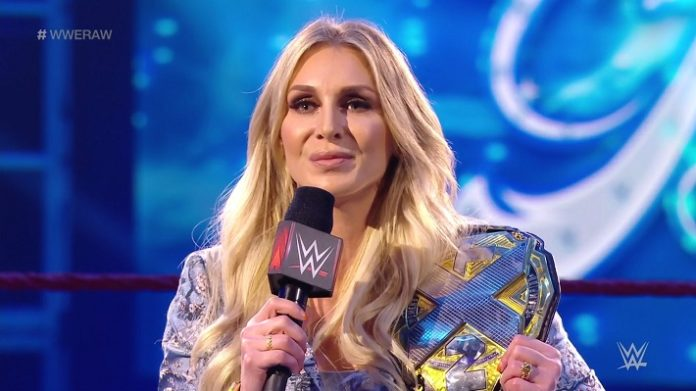 Charlotte Flair as the NXT Champion. Image Credit: WWE.com