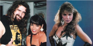 Mick Foley and Nancy Benoit