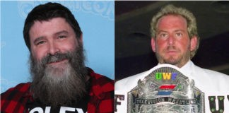 Mick Foley and Herb Abrams