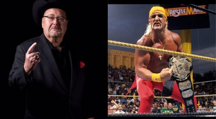 Jim Ross and Hulk Hogan