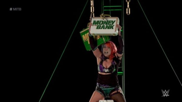 Asuka Wins Women's Money In The Bank Ladder Match