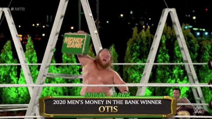 Otis Wins Men's Money In The Bank Ladder Match