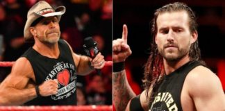 Shawn Michaels and Adam Cole