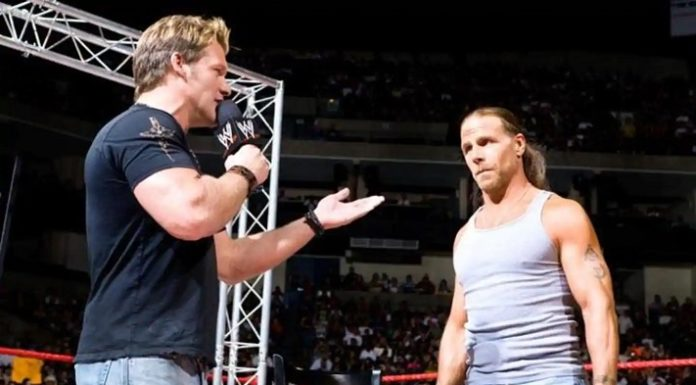 Chris Jericho had a legendary feud with Shawn Michaels