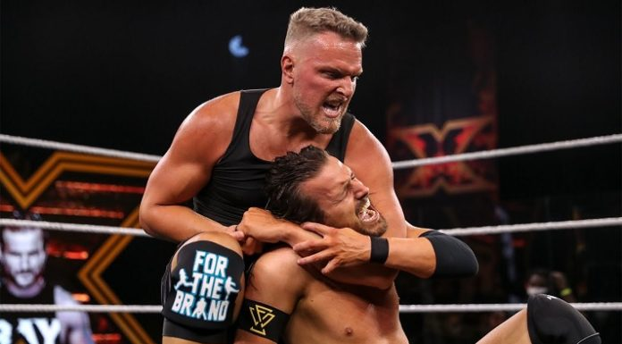 Pat McAfee made his wrestling debut at NXT Takeover: XXX