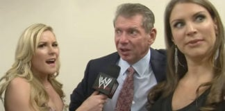 Renee Young Vince McMahon