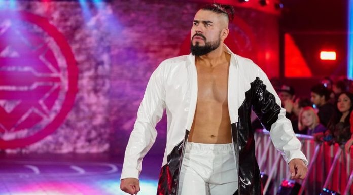 Andrade was left undrafted after Raw