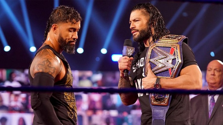Jey Uso and Roman Reigns