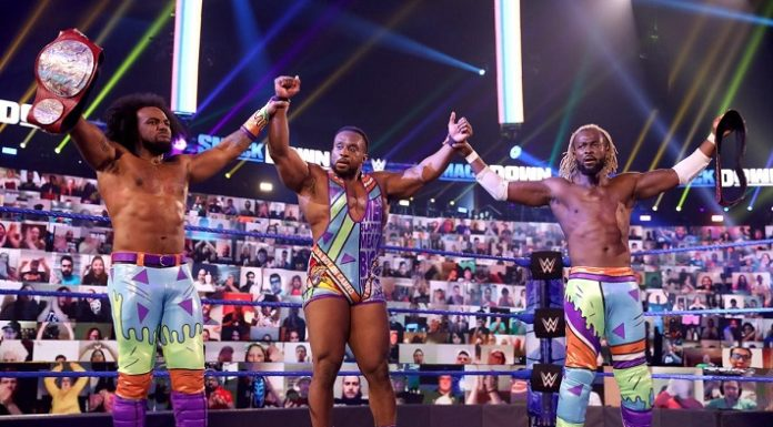 The New Day were split up during the latest Draft
