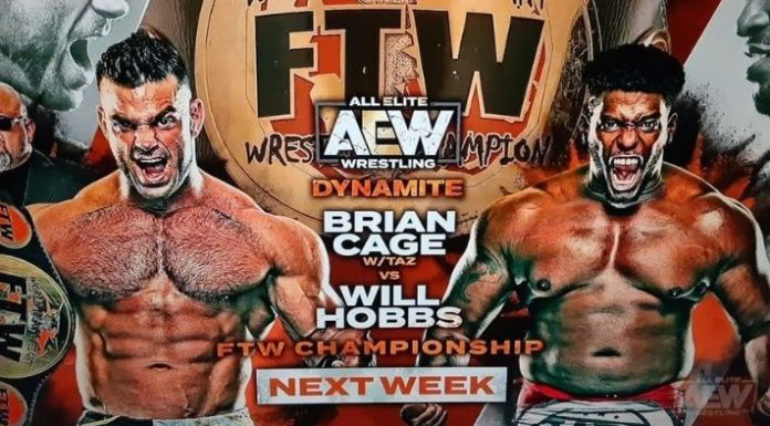 Brian Cage vs Will Hobbs FTW Title