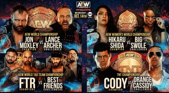 Updated Preview For AEW's Dynamite Anniversary