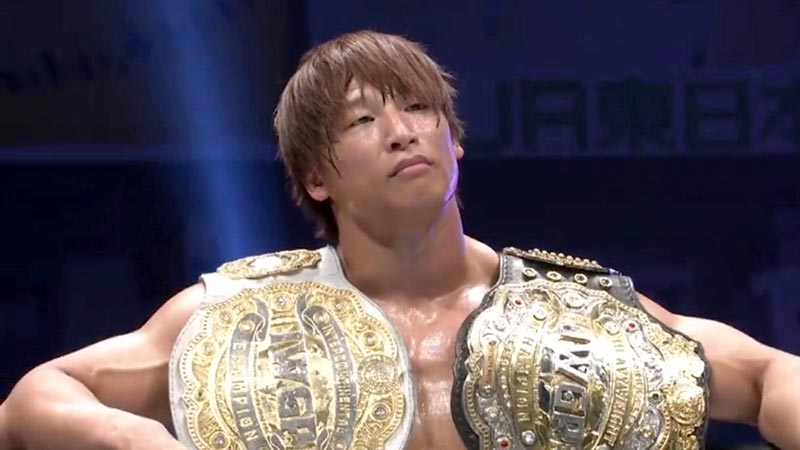 Kota Ibushi Requests NJPW Unify IWGP Heavyweight & Intercontinental Titles