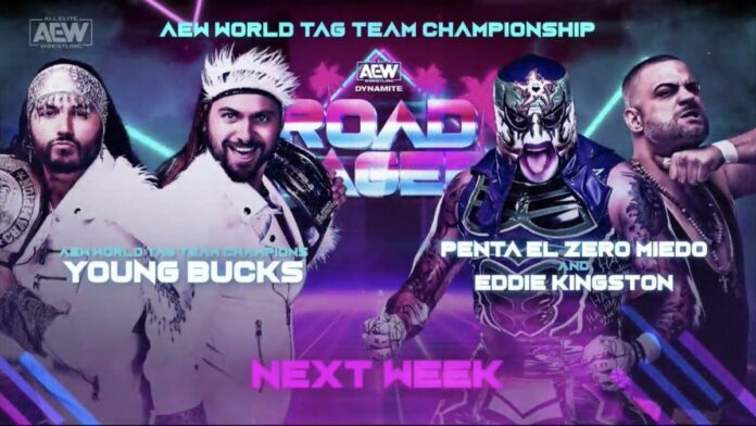 Eddie Kingston Rips Into The Young Bucks Before Tag Title Match AEW Road Rager 2021